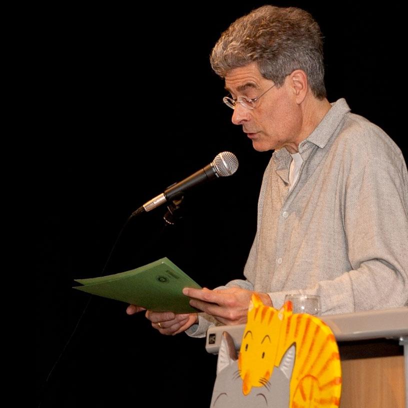 Dr. Bernhard Petermann beim Vortrag
