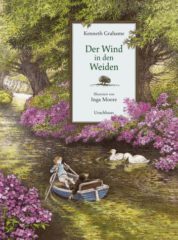 """hier zu sehen der Buchdeckel von """"Der wind in den Weiden"""""""